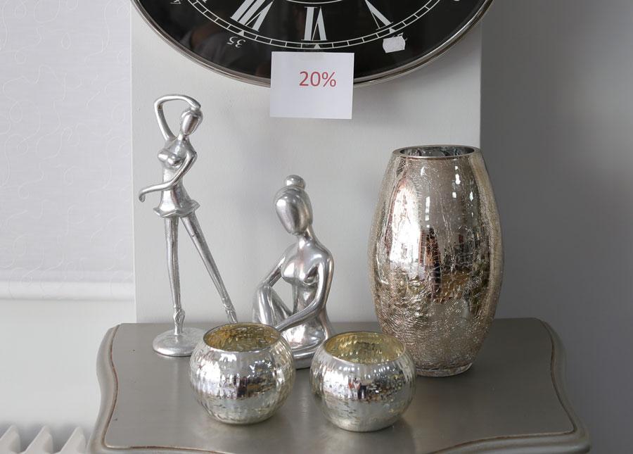 Artículos decorativos metal rebajas